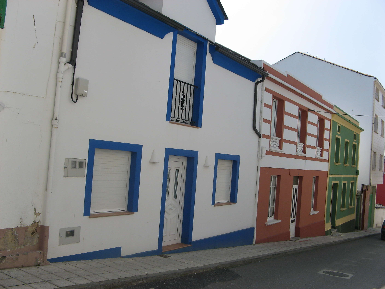 Foto playa Llás. Casas Foz