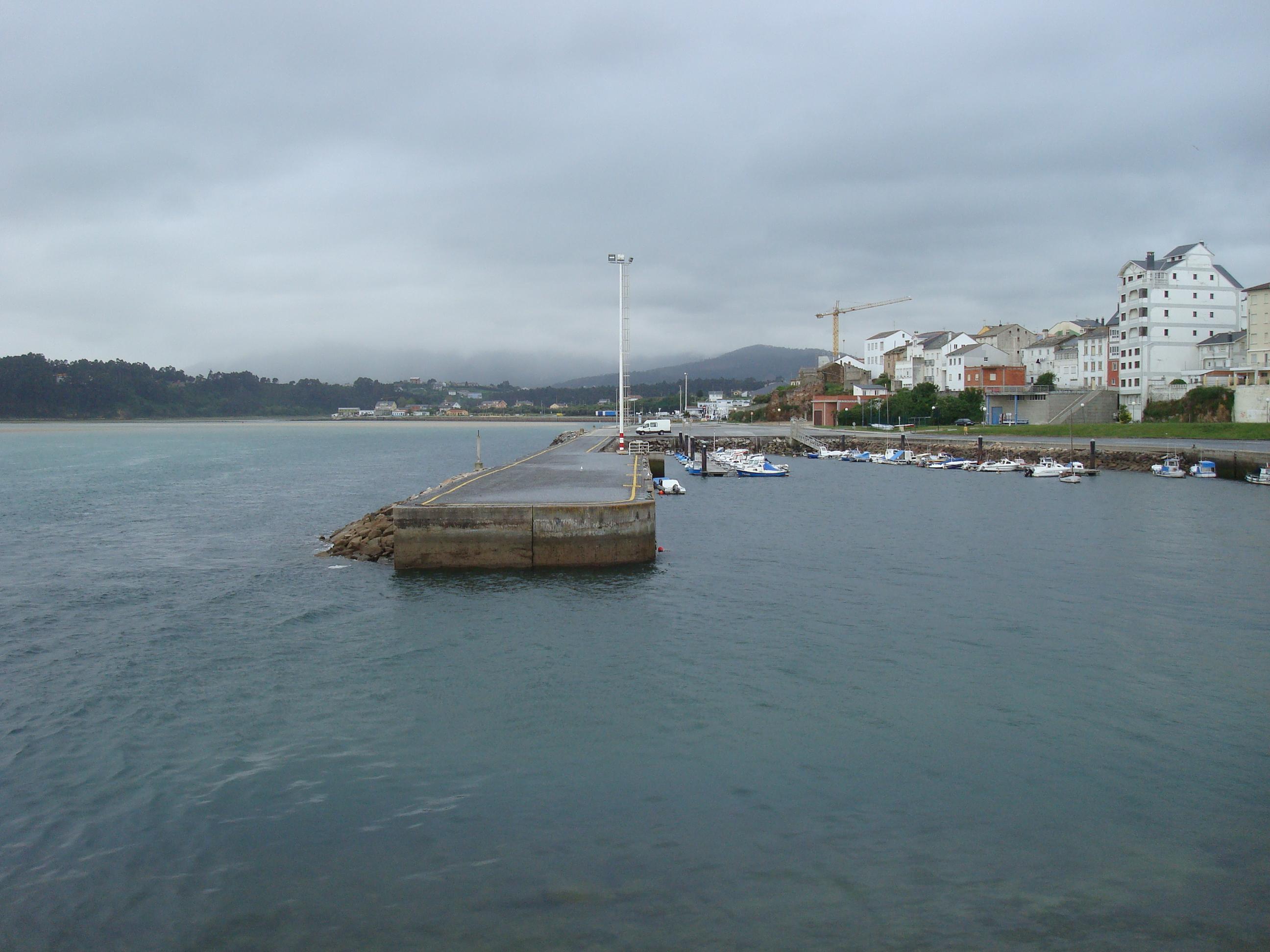 Foto playa Llás. Puerto de Foz