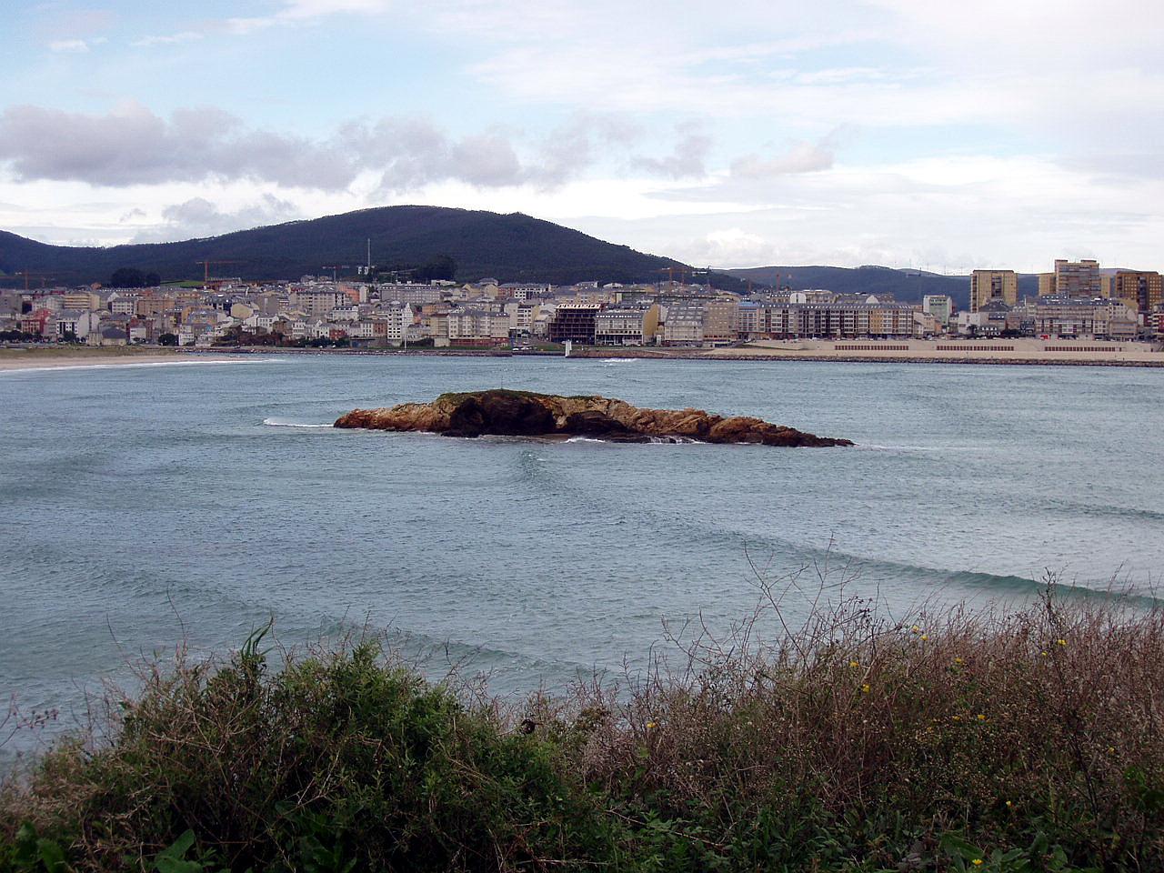 Foto playa A Rapadoira. San Cosme de Barreiros, Galicia, España