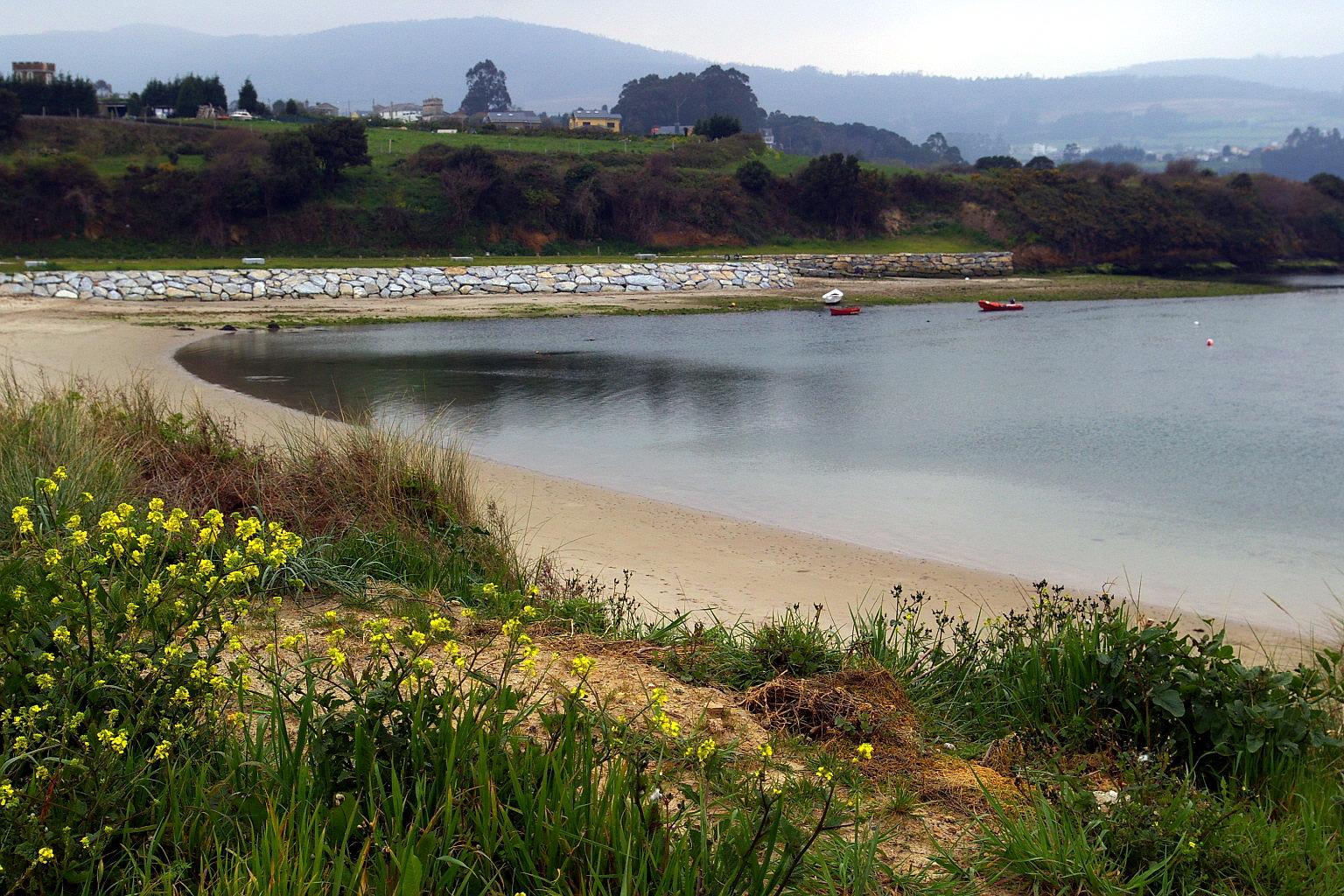 Foto playa San Cosme / Altar. Playa en la ria de Foz, San Cosme de Barreiros, Lugo, Galicia