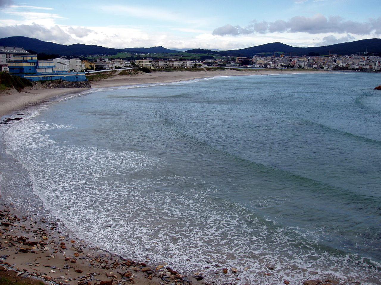 Foto playa San Cosme / Altar. San Cosme de Barreiros, Galicia, España