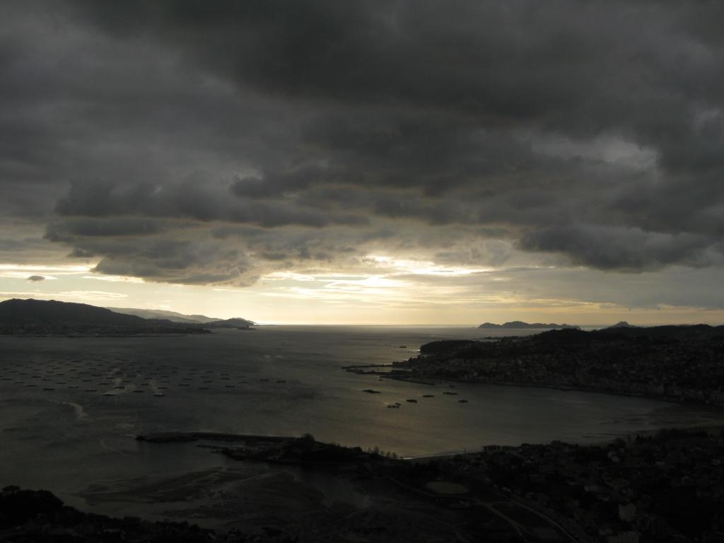 Foto playa San Bartolo. Moaña
