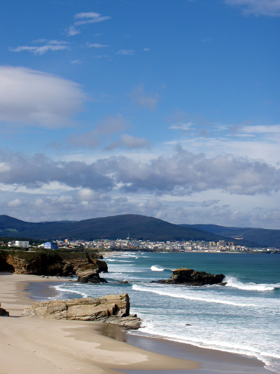 Foto playa San Pedro / Valea / Coto. Playa de San Bartolo, San Cosme de Barreiros, Lugo, España
