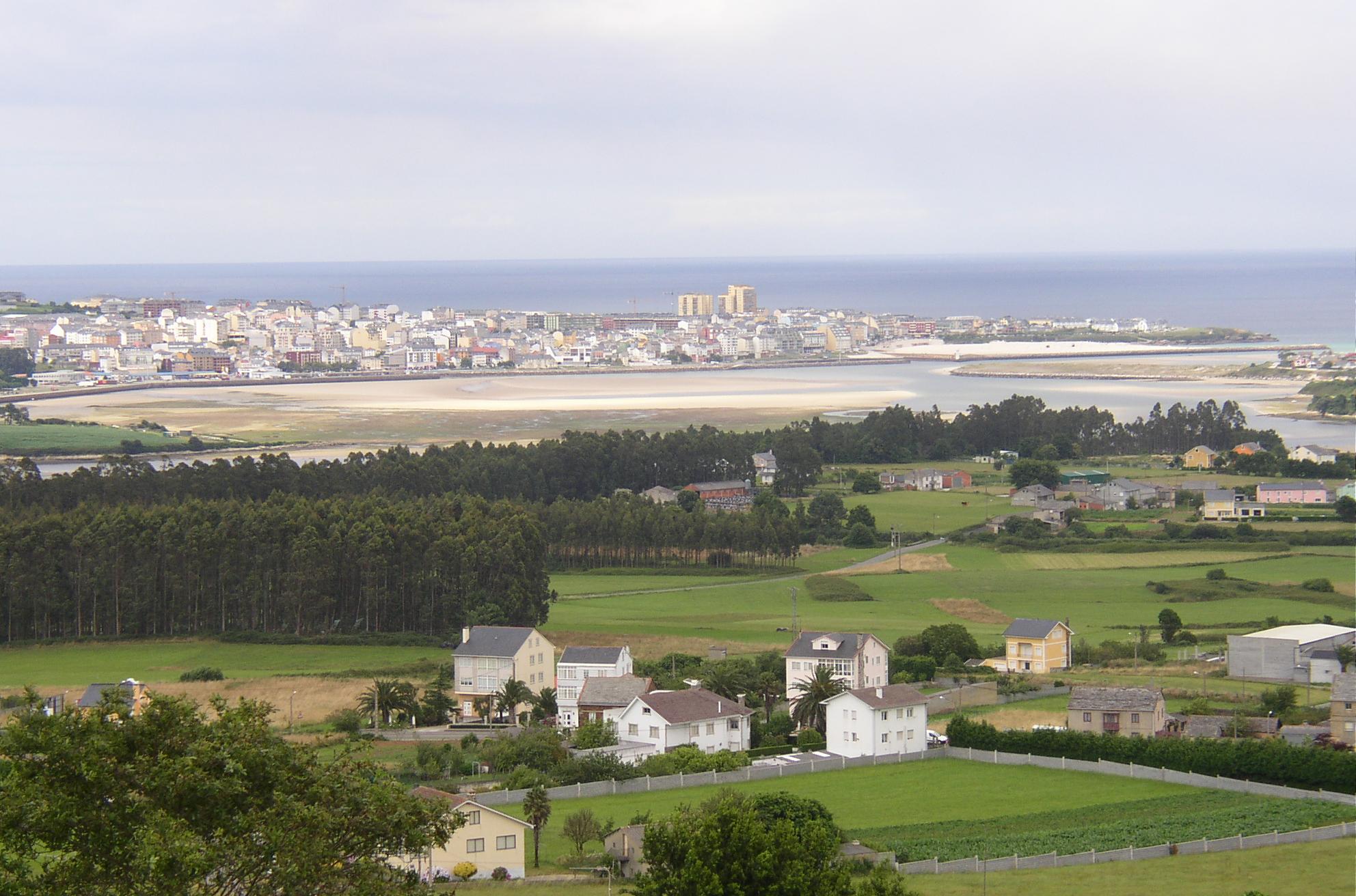 Foto playa Fontela / Balea. vista de Foz