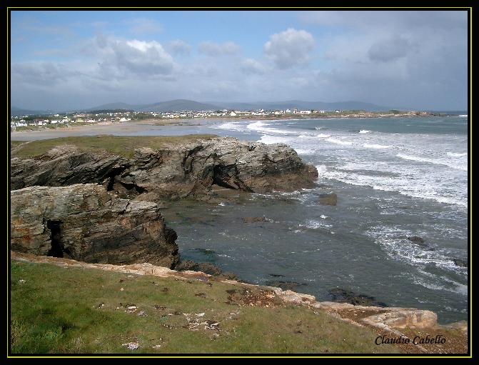 Foto playa Lóngara. Playa de Arealonga. Lugo