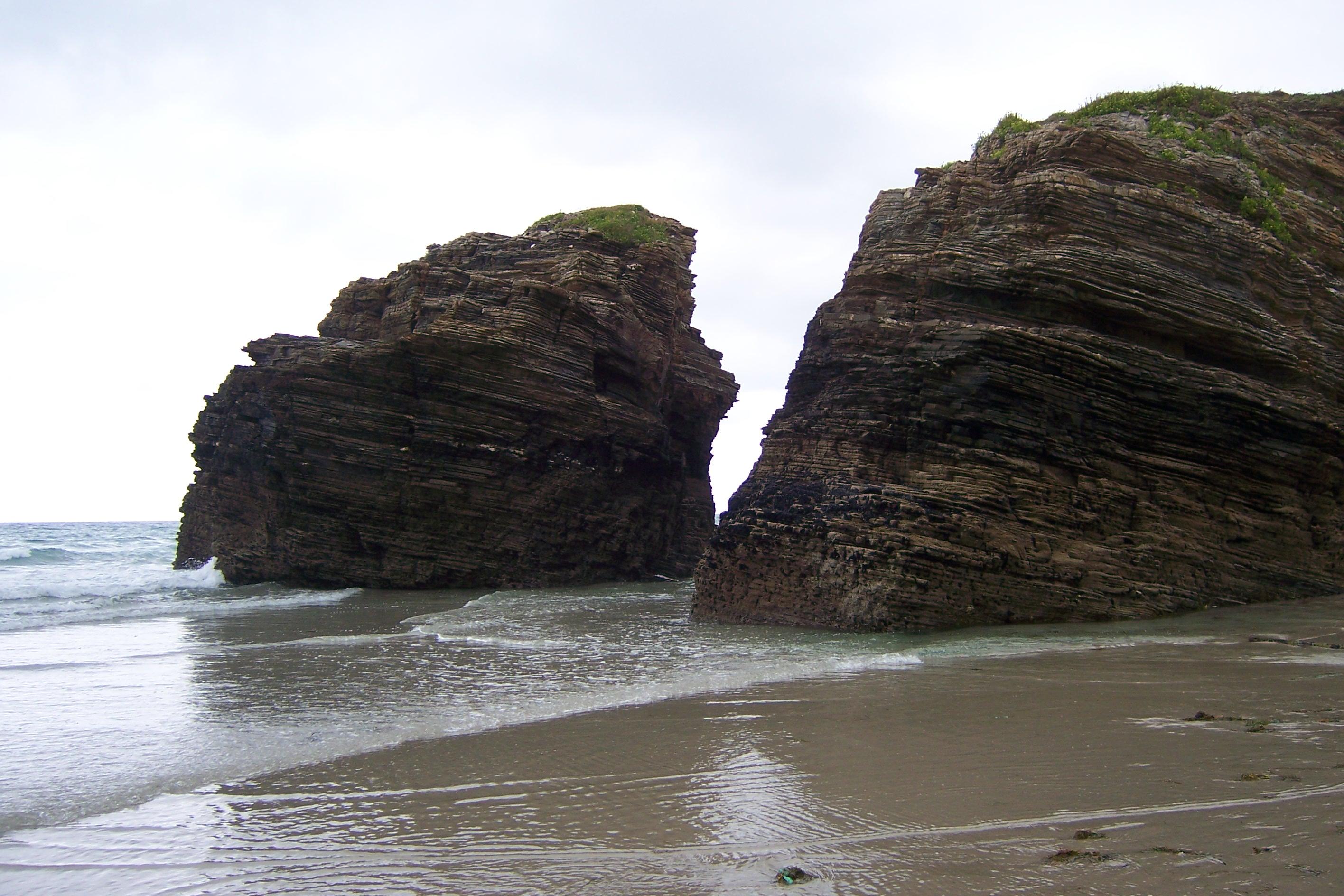 Foto playa Lóngara. Playa de las Catedrales - Lugo