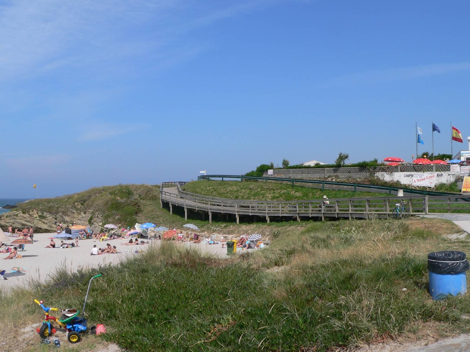 Foto playa San Miguel de Reinante / Arealonga. Playa de Reinante Lugo Galicia España