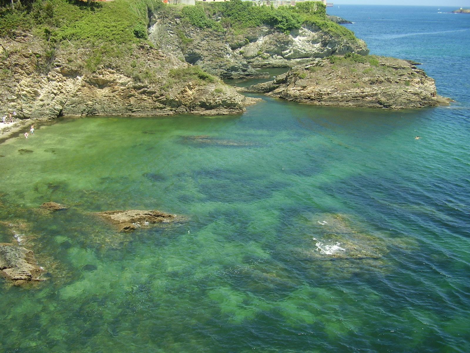 Foto playa Os Bloques. Ribadeo