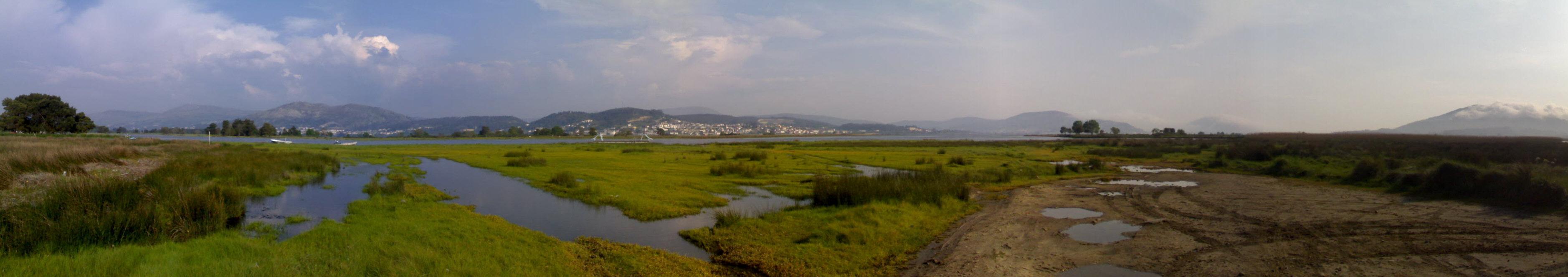 Foto playa Río Tamuxe. Dende O Tamuxe