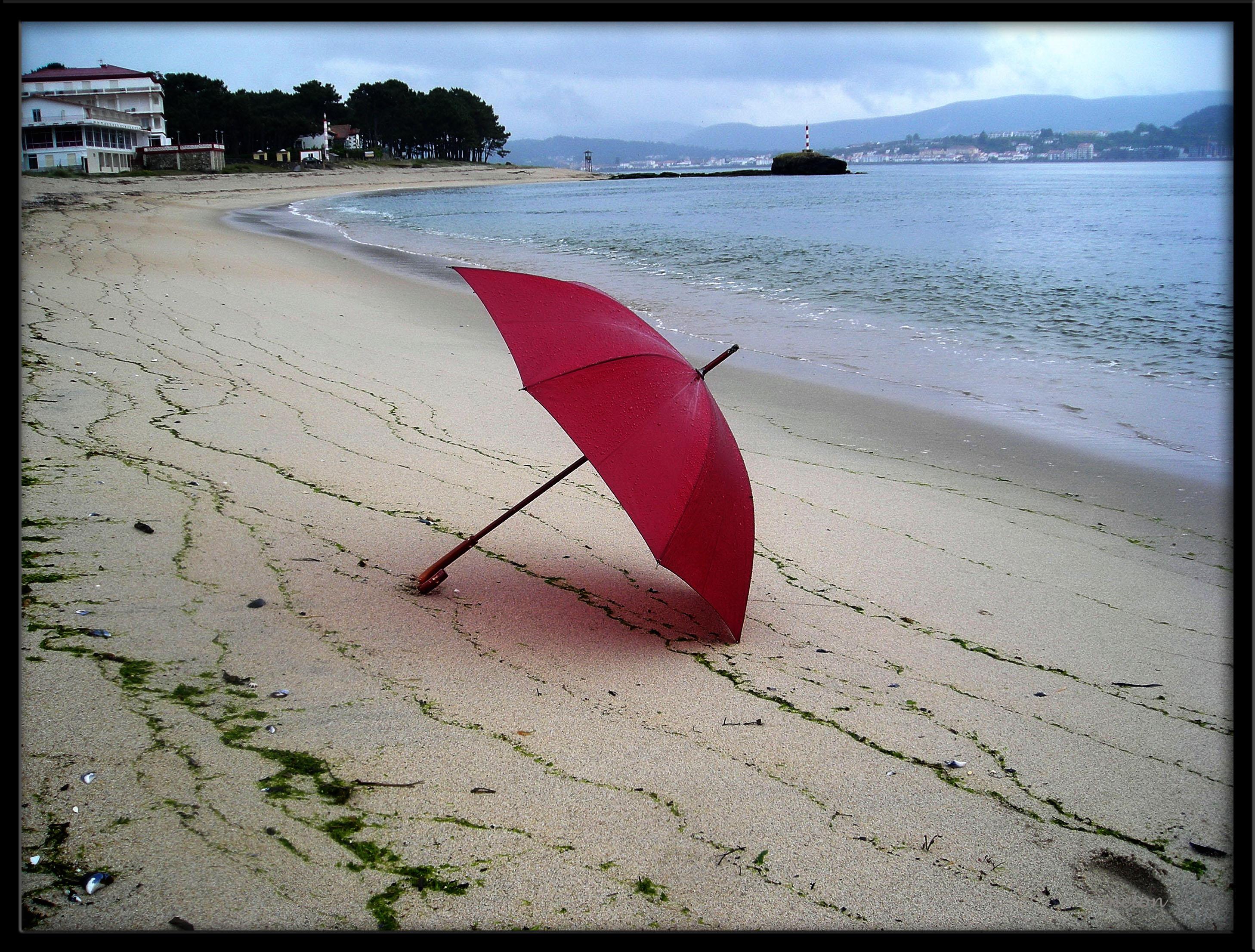 Foto playa A Armona. Aclarate home do tempo!..dixeches  tempo seco e soleado..