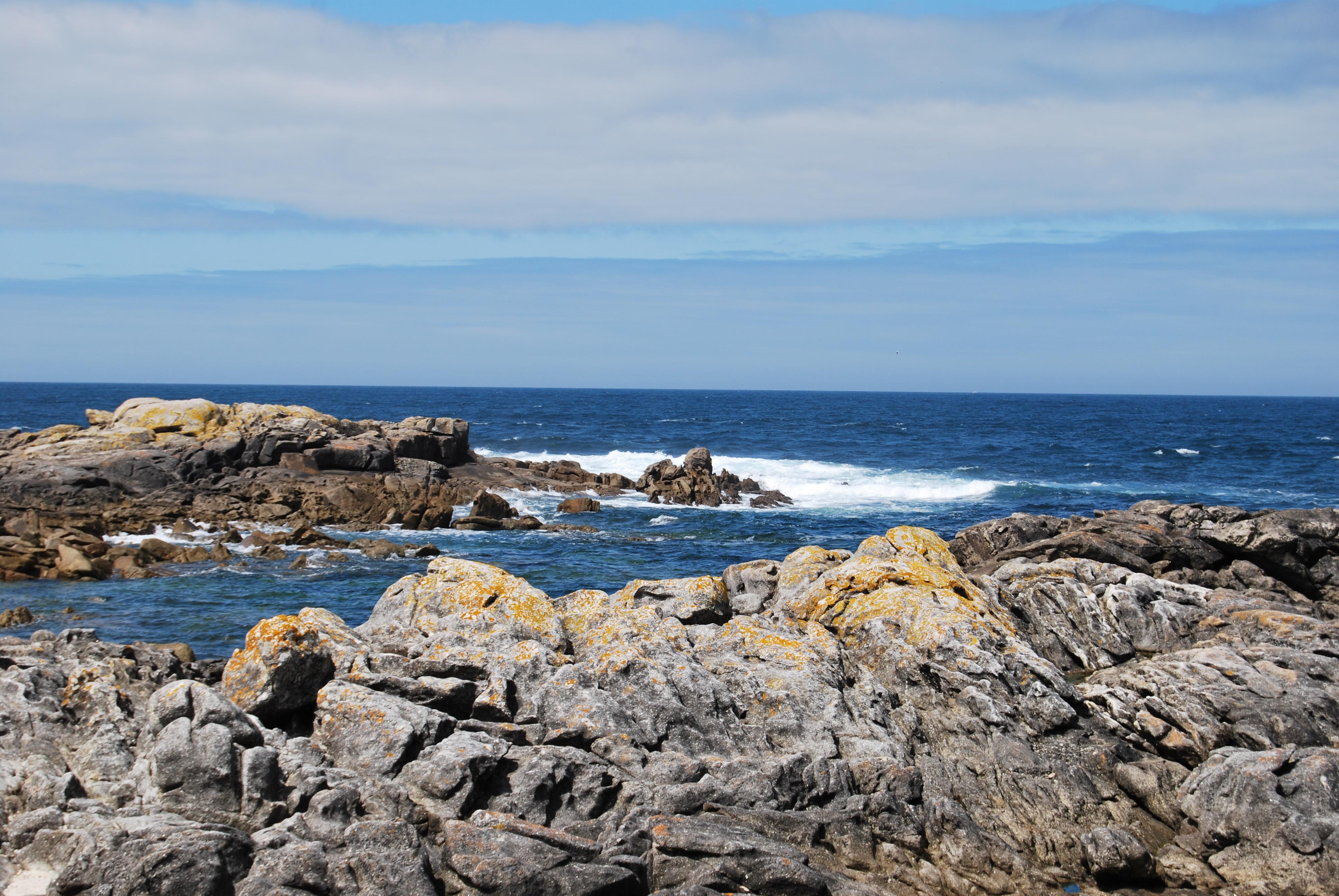 Foto playa O Muiño. Naturaleza agreste