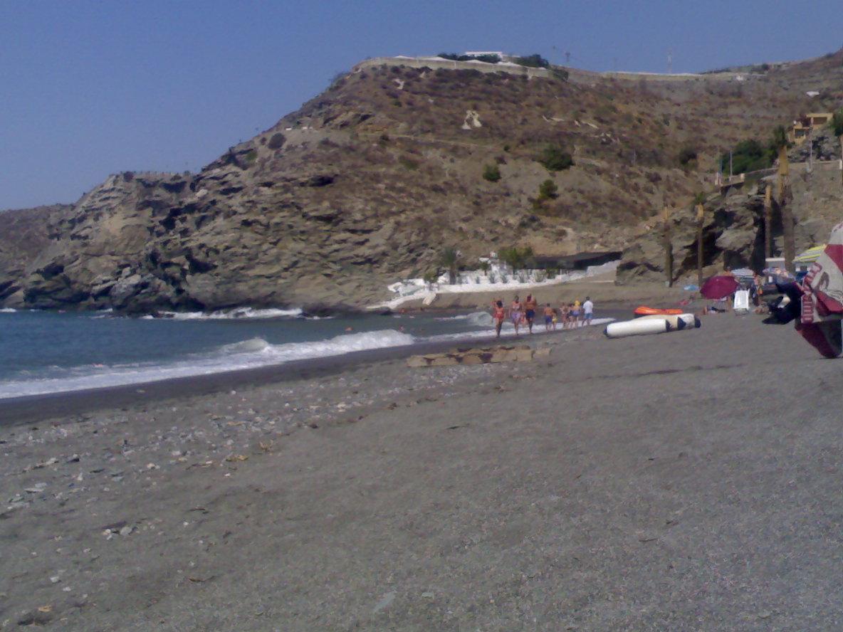 Foto playa La Playiya. playa de la rabita