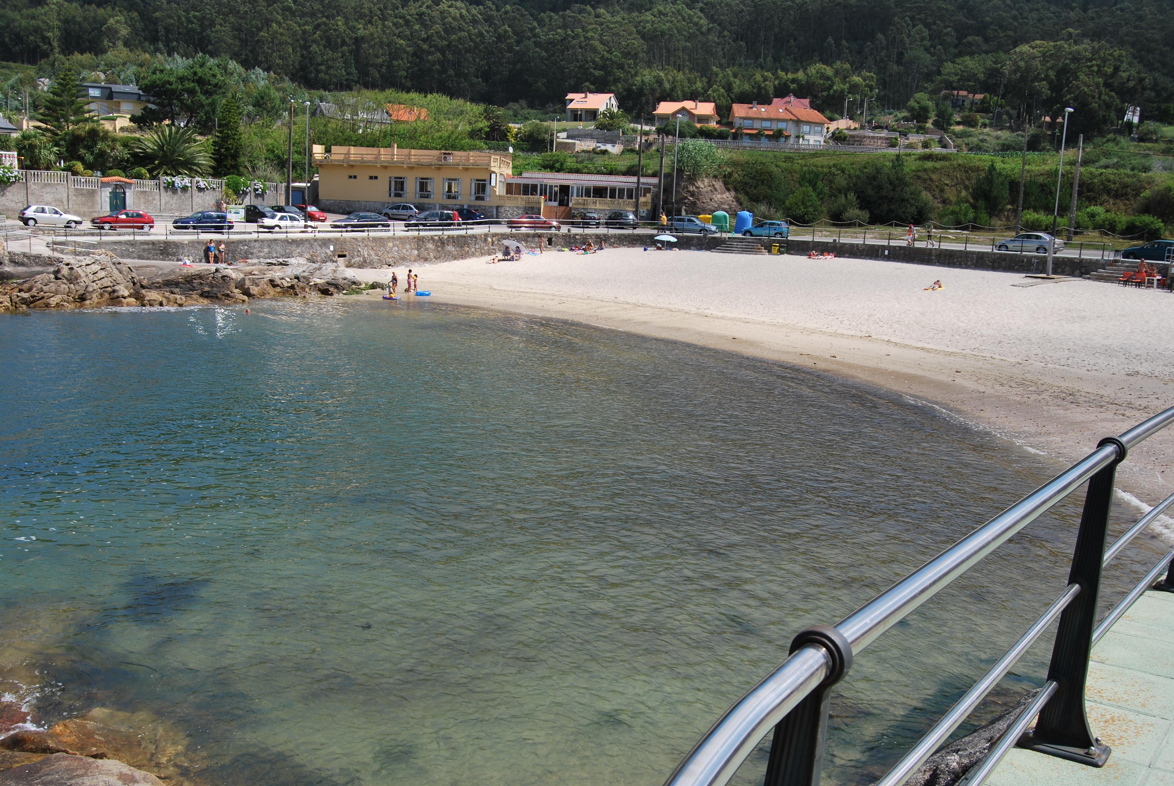 Foto playa O Muiño. La playa