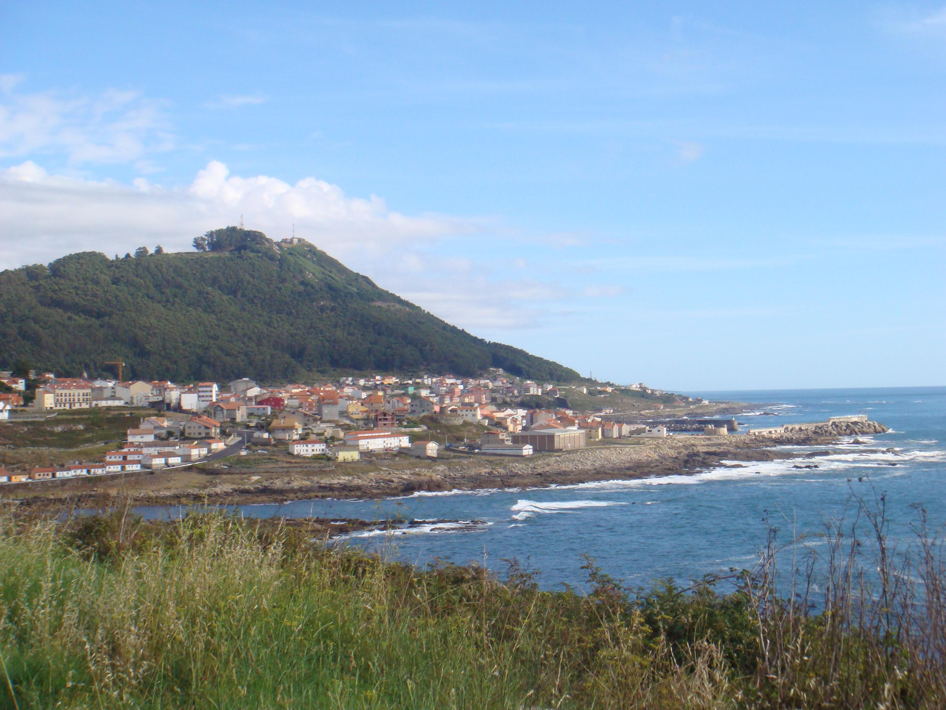 Foto playa Carreiro. vista A Guarda (norte)