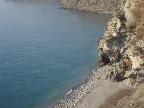 Foto playa La Playiya. Playa de El Ruso