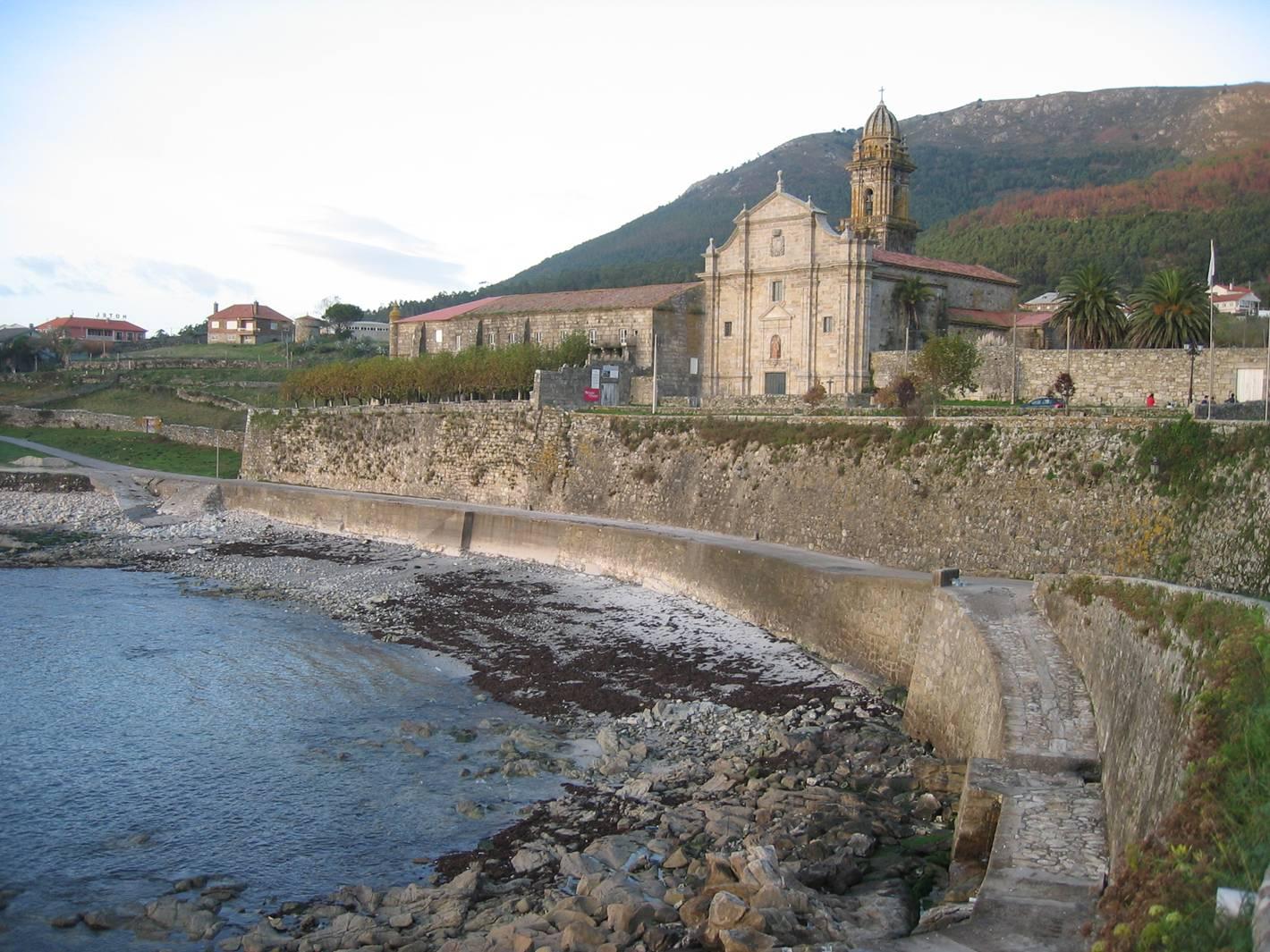 Foto playa Fedorento. Santa Mª de Oia (Pontevedra)