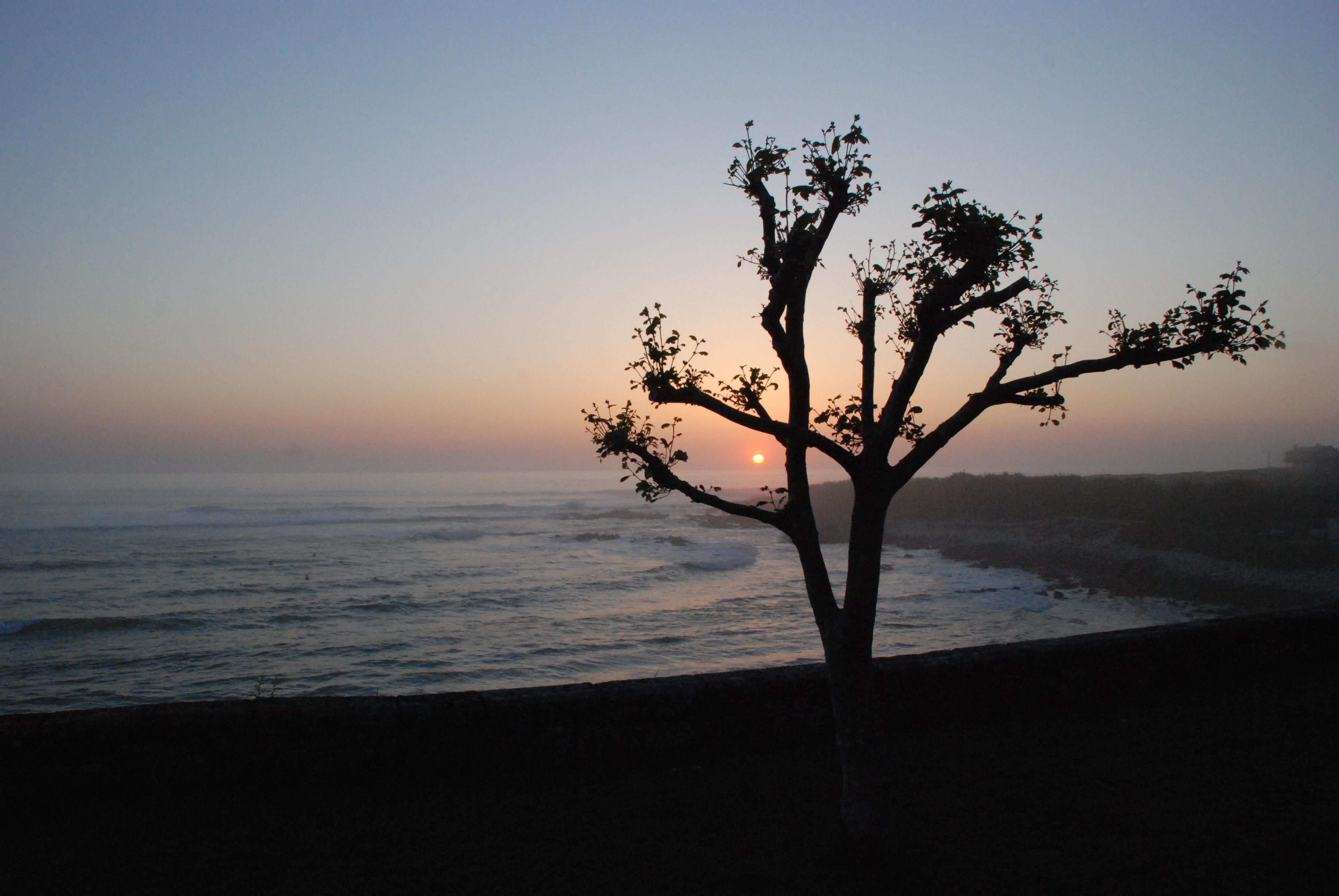 Foto playa Fedorento. MI ATARDECER...