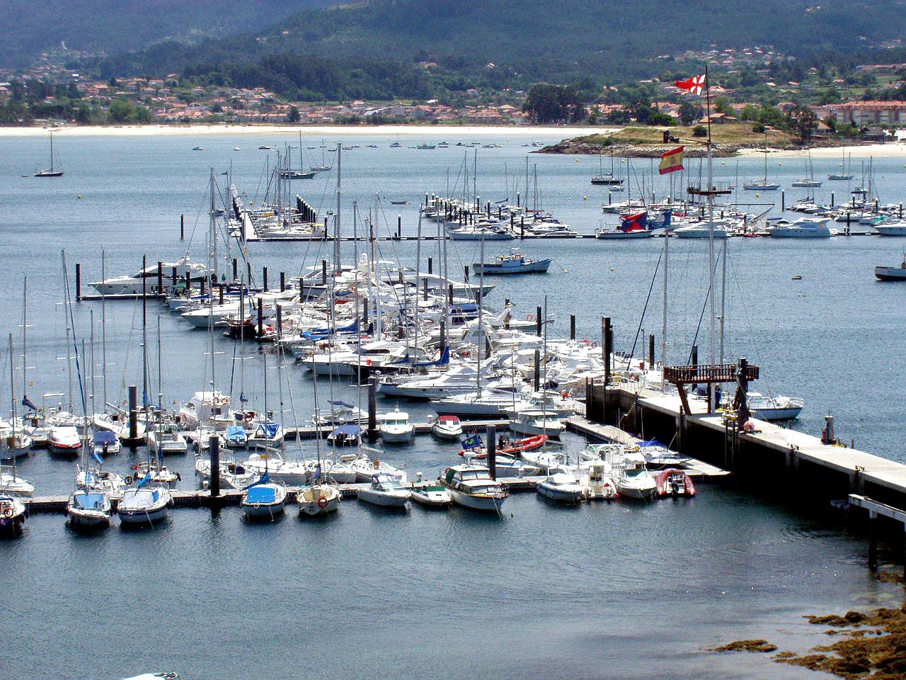 Foto playa Santa Marta. Bayona, Pontevedra, España