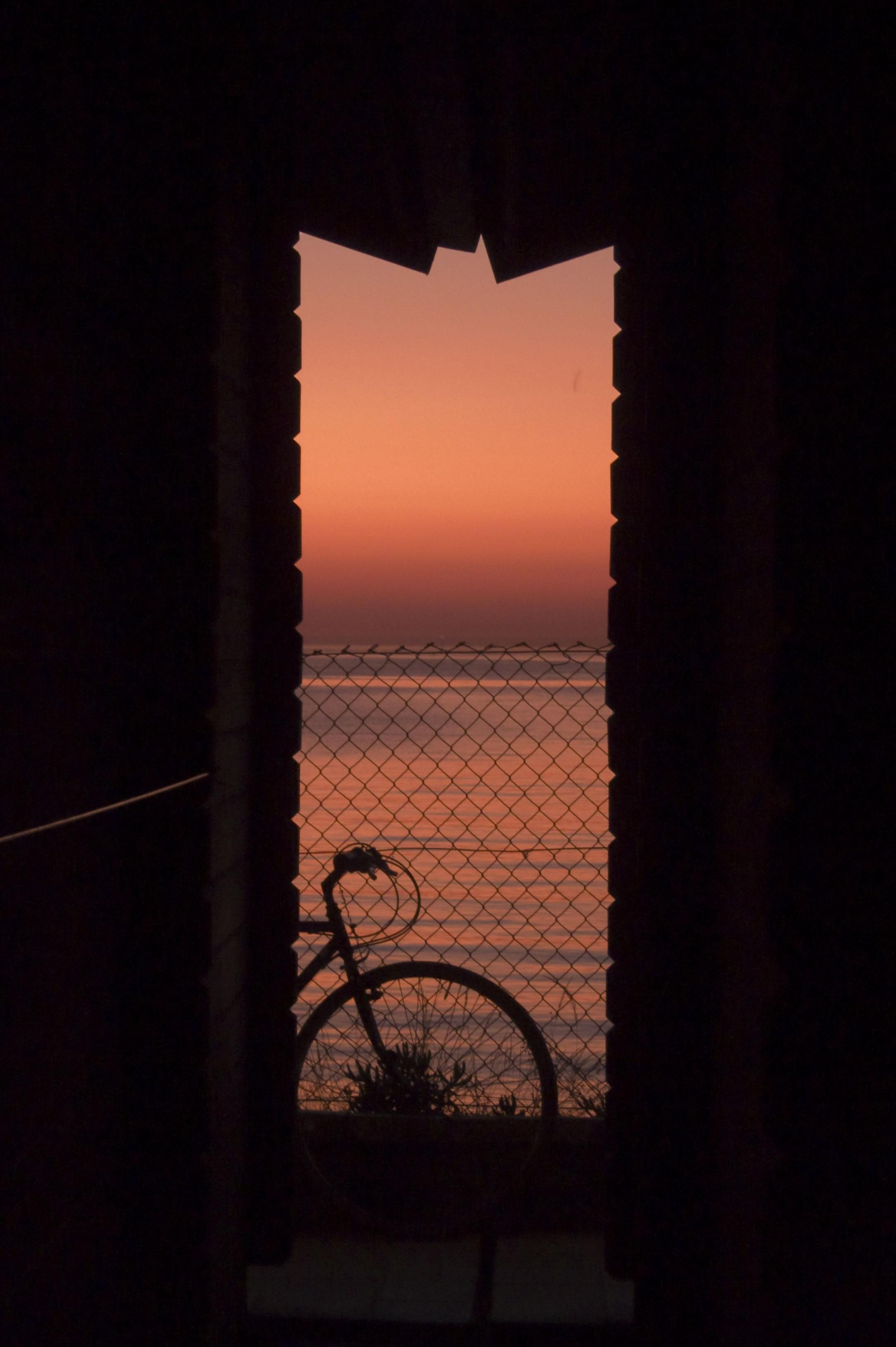 Foto playa Ladeira. Ultimas luces de un dia de verano