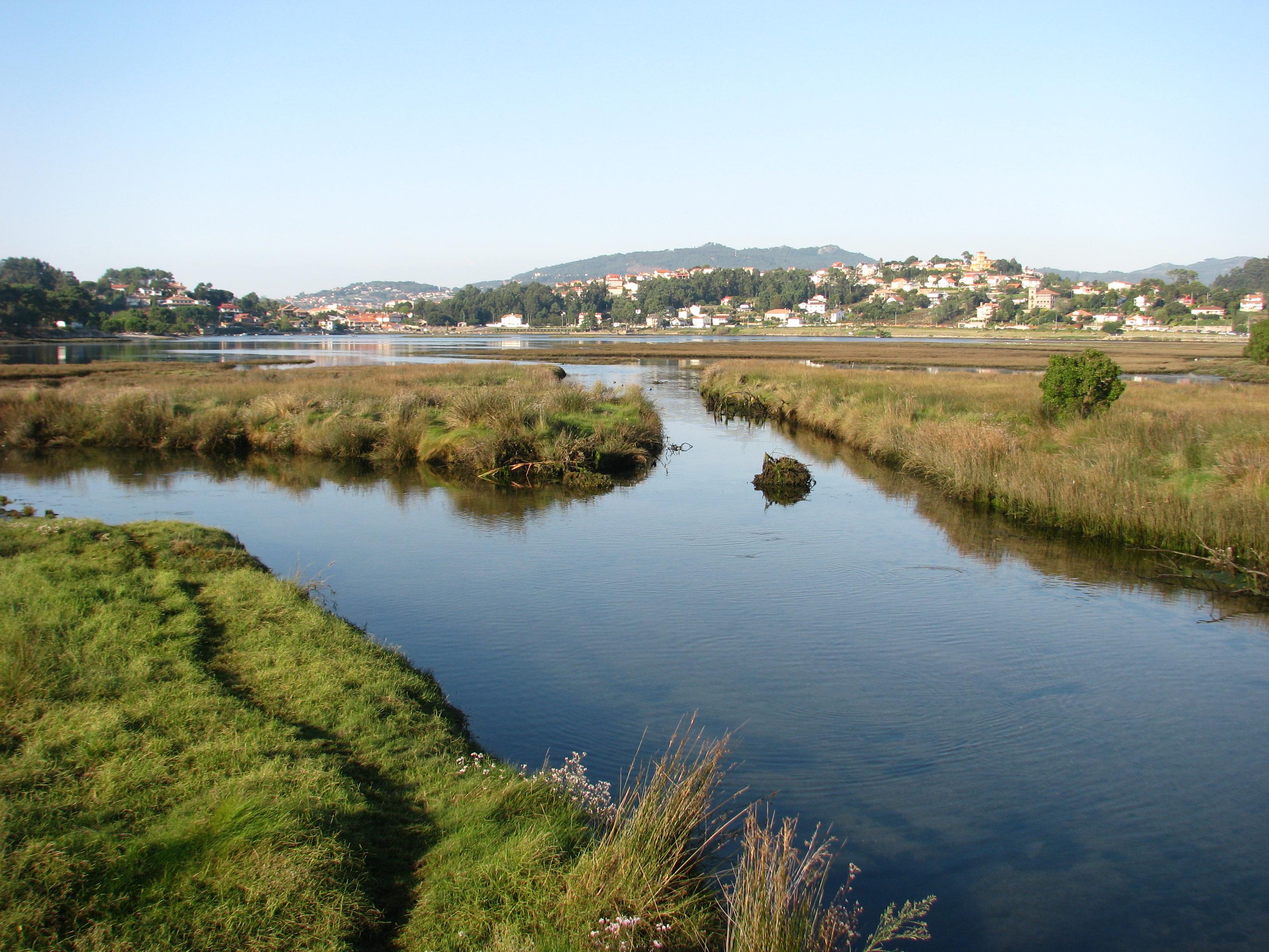 Foto playa Ladeira. XUNQUEIRA DE SABARIS