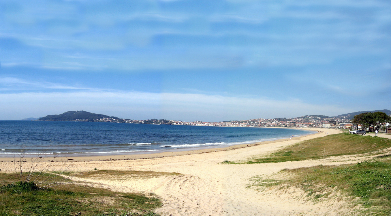 Foto playa América. Baiona - Playa América