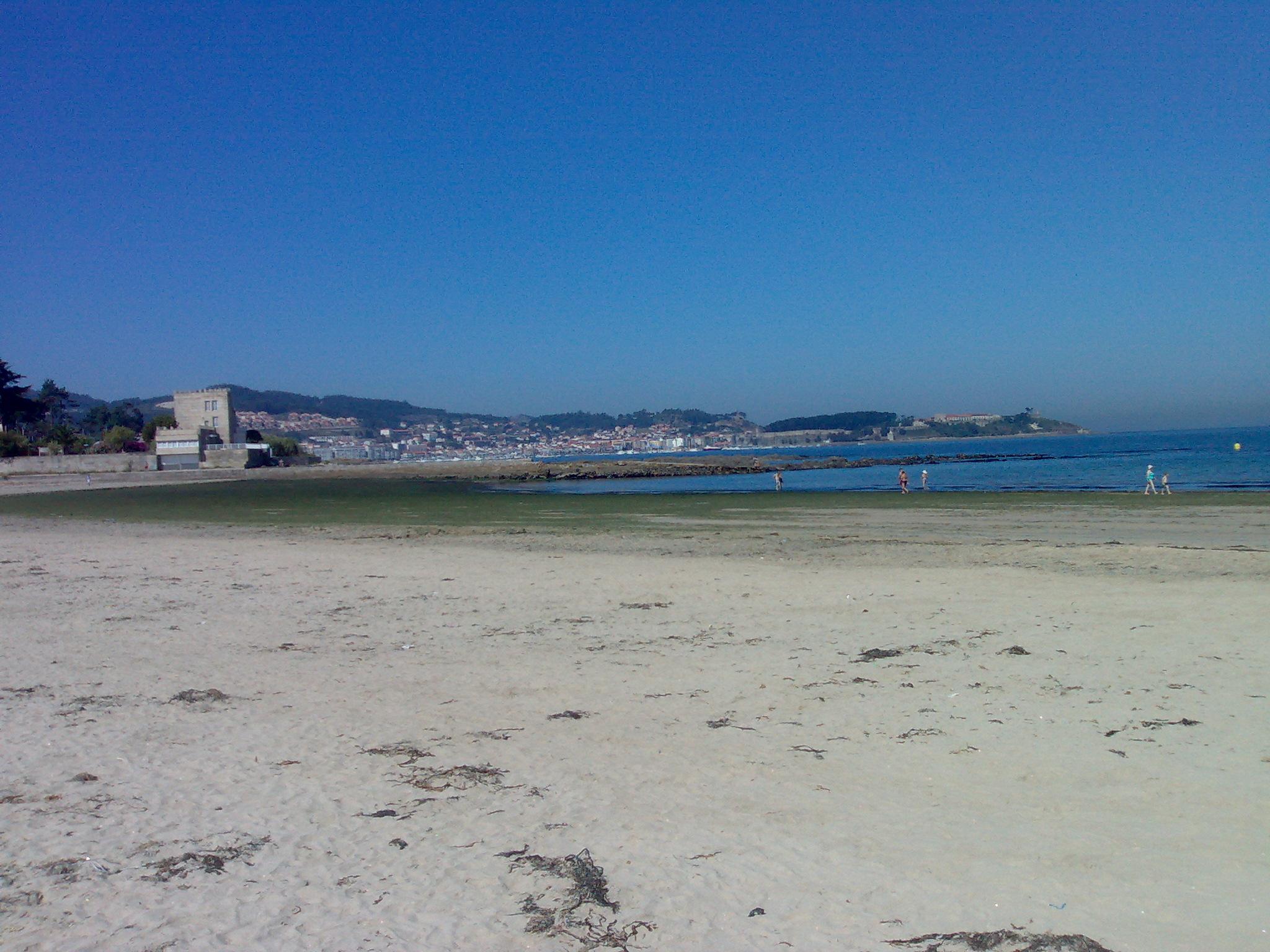 Foto playa América. Praia América