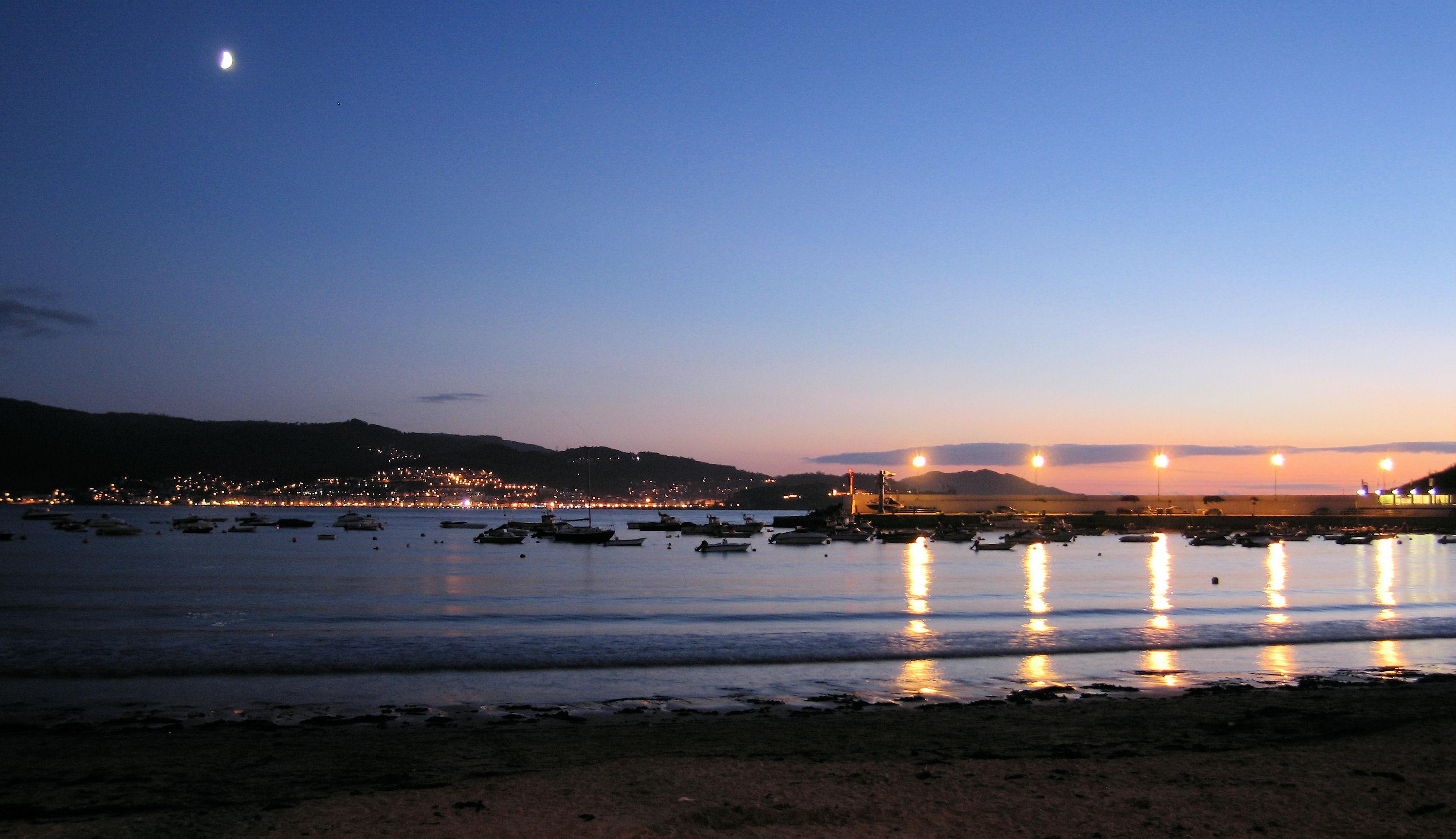 Foto playa Area Fofa. reflejos