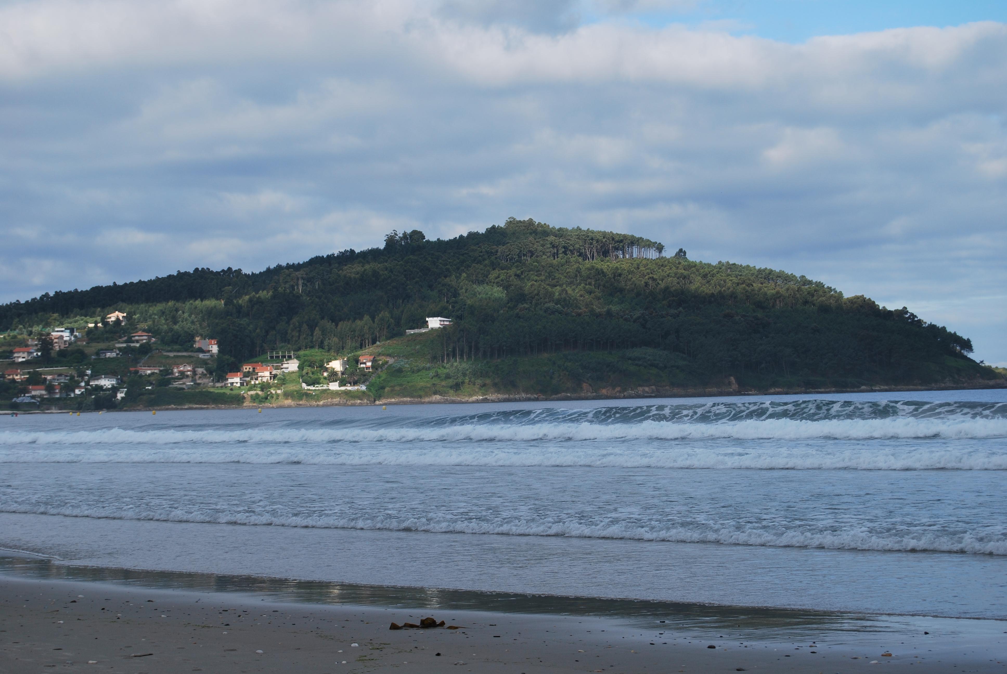 Foto playa Patos / Playa de Prado o As Canas / Playa de Abra. Monte Ferro
