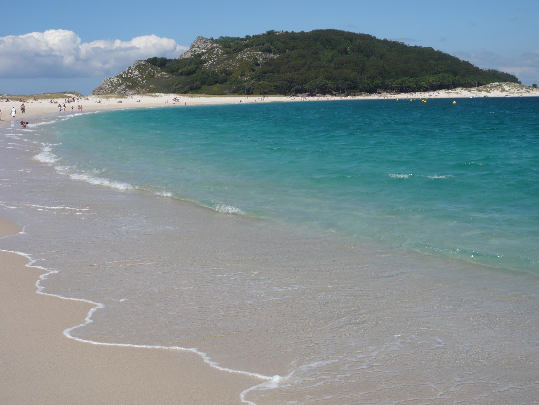 Foto playa Rodas. Islas Cíes