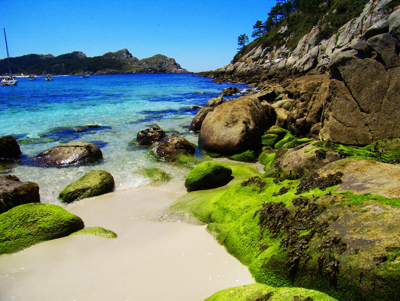 Foto playa Rodas. ilhas cies praias