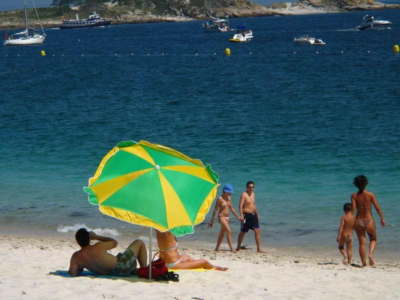 Foto playa Rodas. AAA_13797_Islas Cíes
