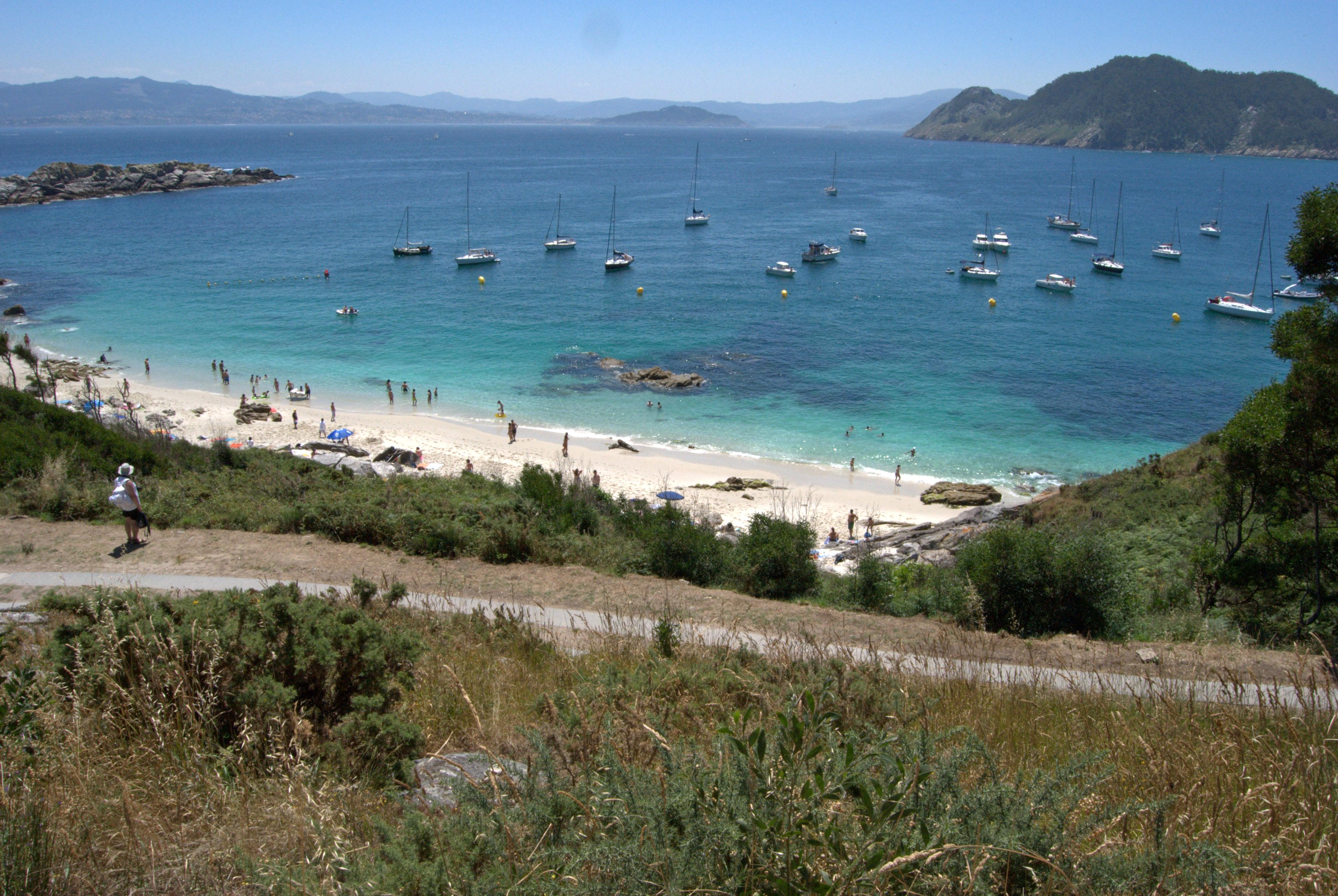 Foto playa Rodas. Rodas Beach!