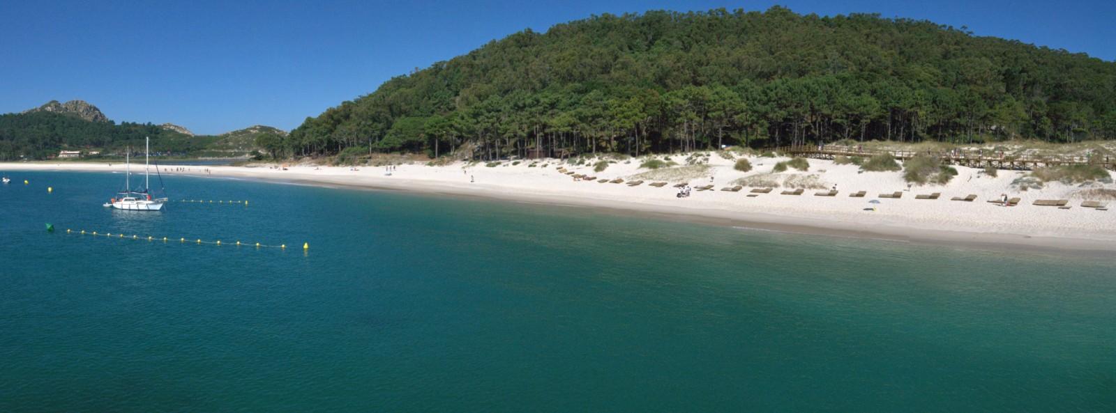 Foto playa Rodas. Playa de Rodas