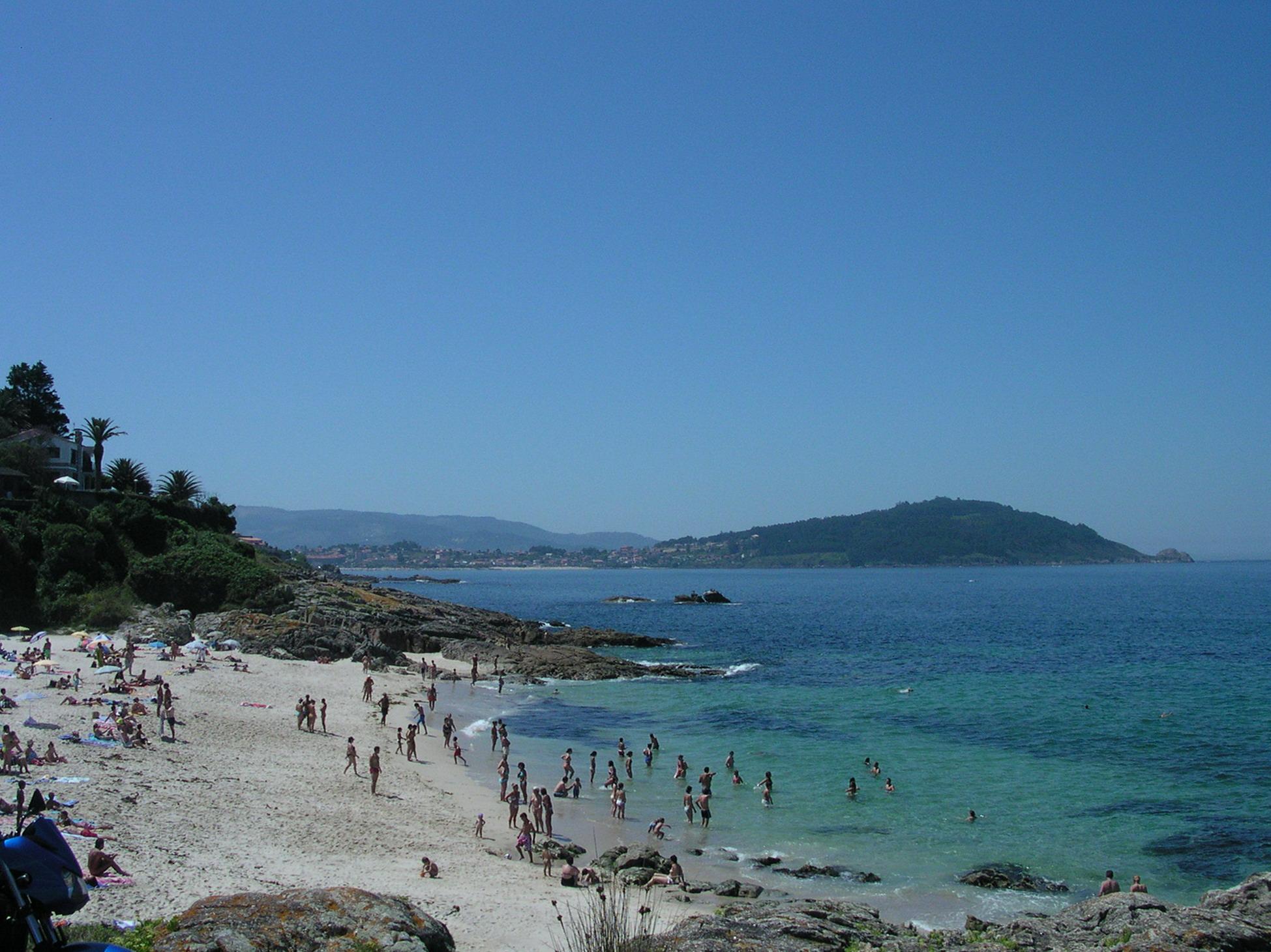 Foto playa O Portiño. Playa de Sayanes