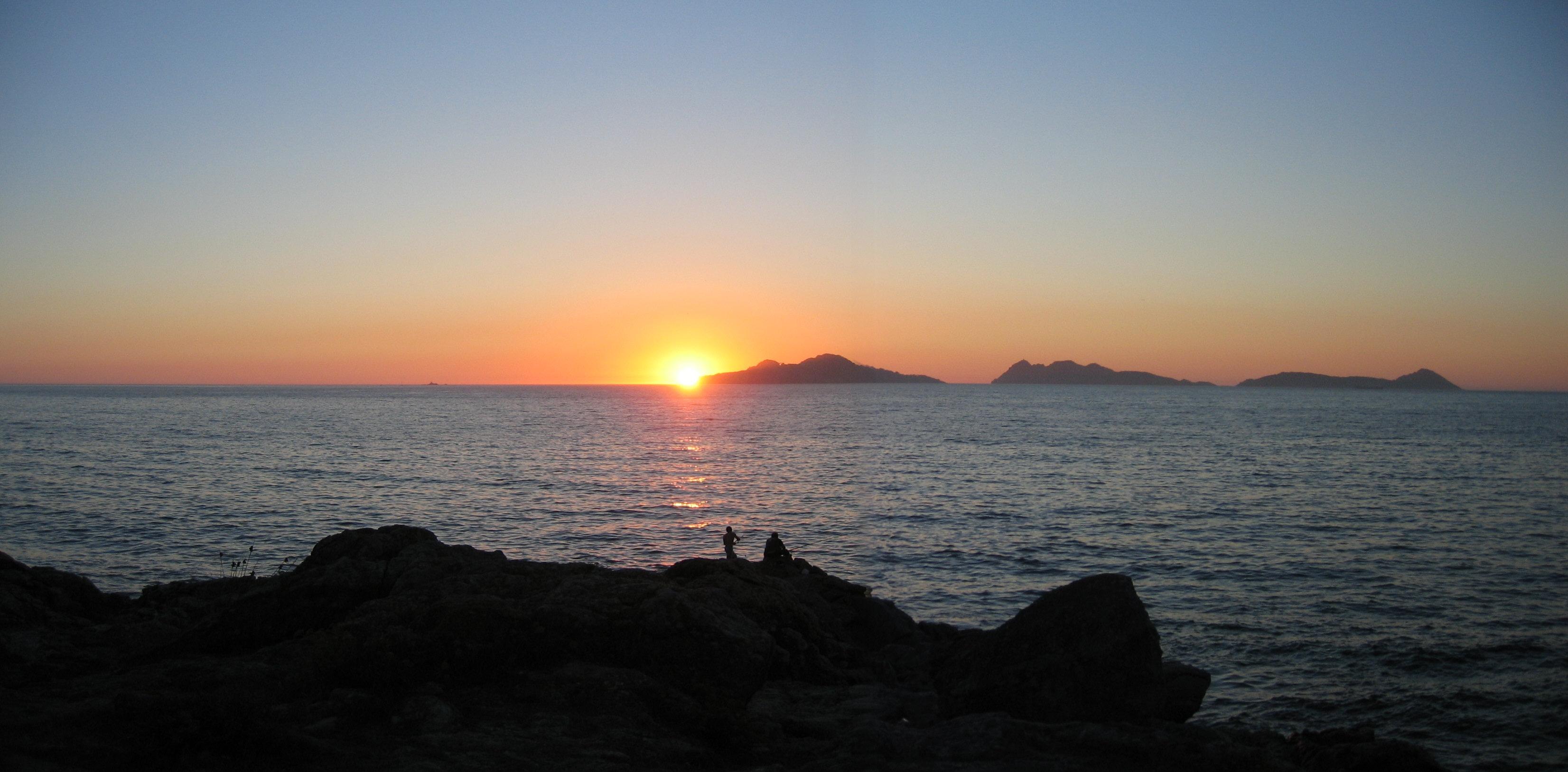 Foto playa O Portiño. cies