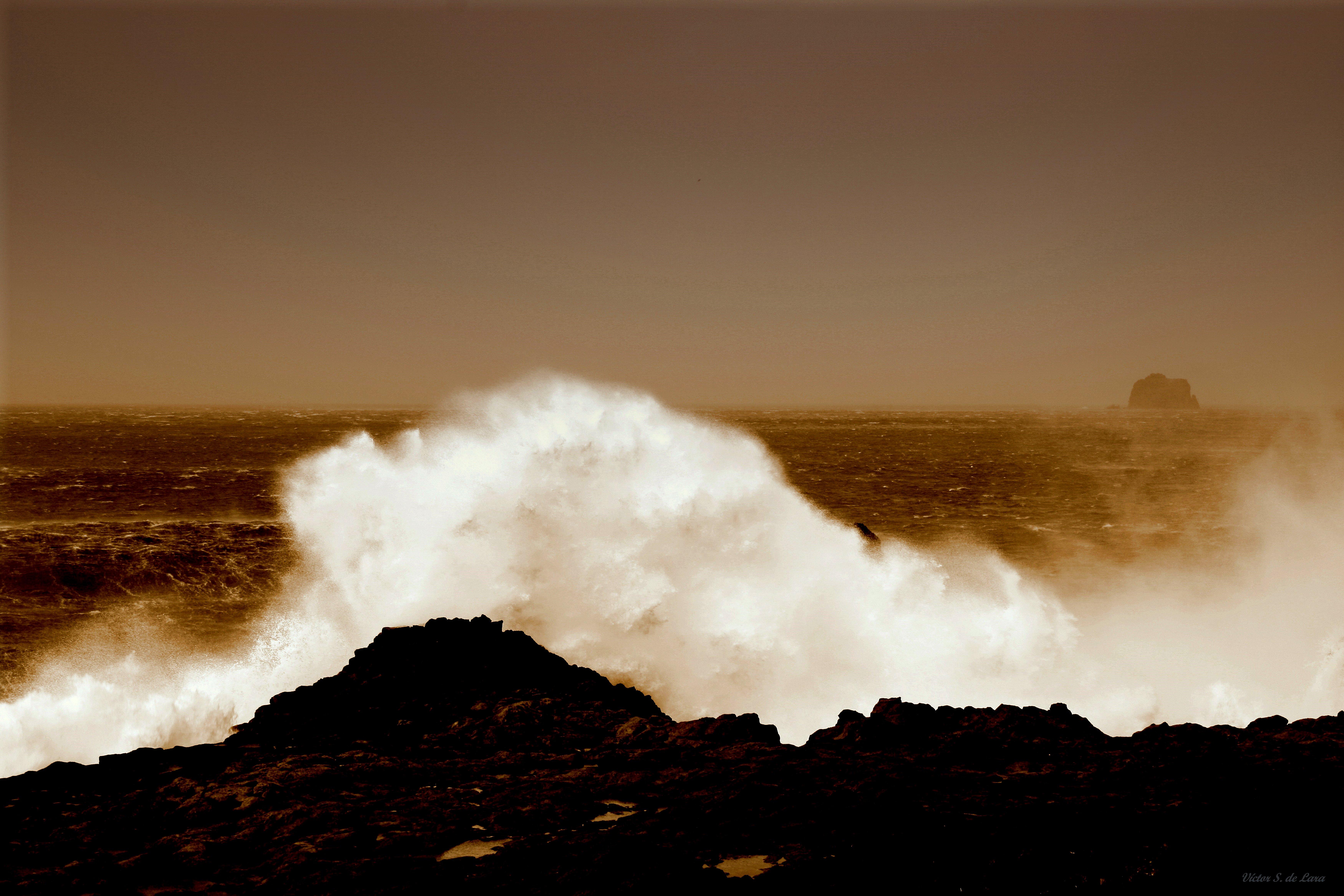 Foto playa Punta Grande. Furia ( Fury )