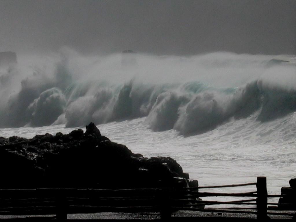 Foto playa Punta Grande. Tsunami