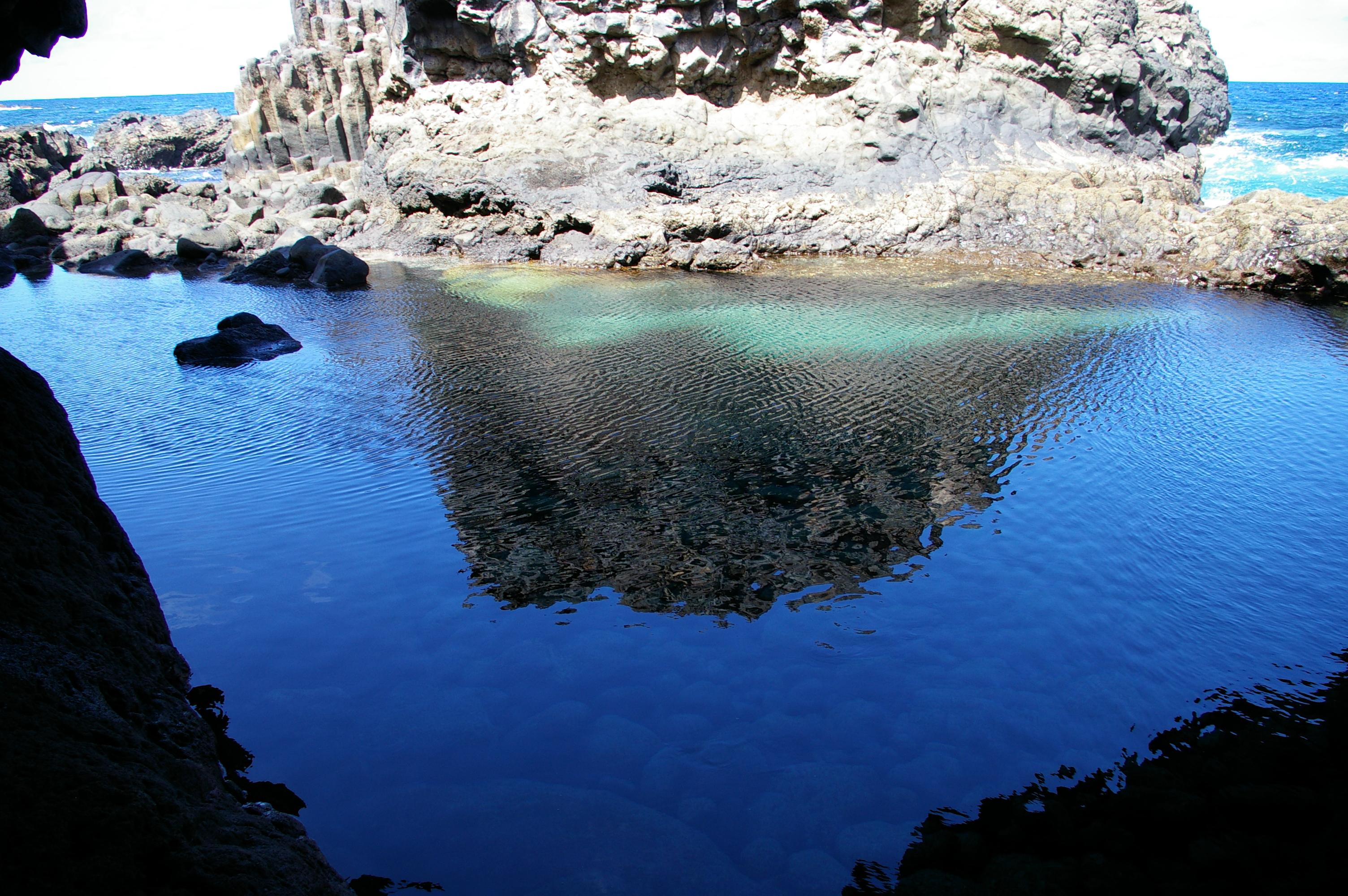 Foto playa Charco Azul / Los Llanillos. El Charco,El Hierro