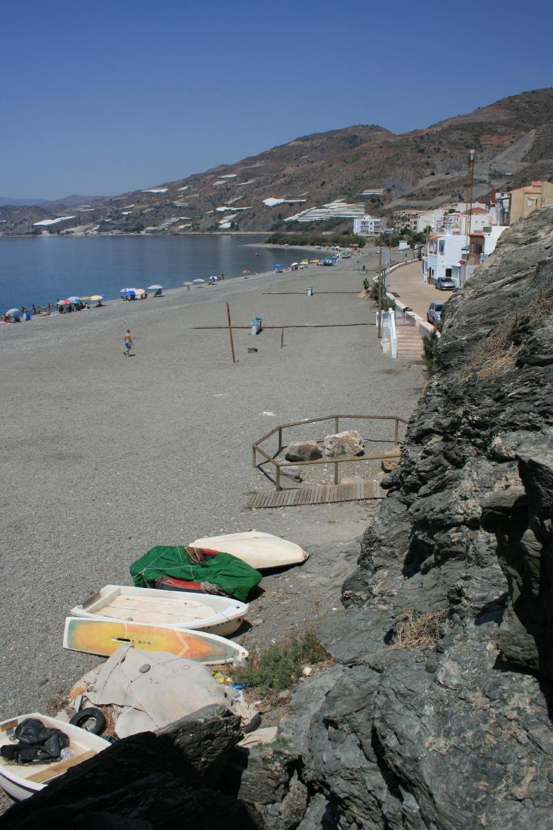 Foto playa El Gaiterillo. Melicena puerto