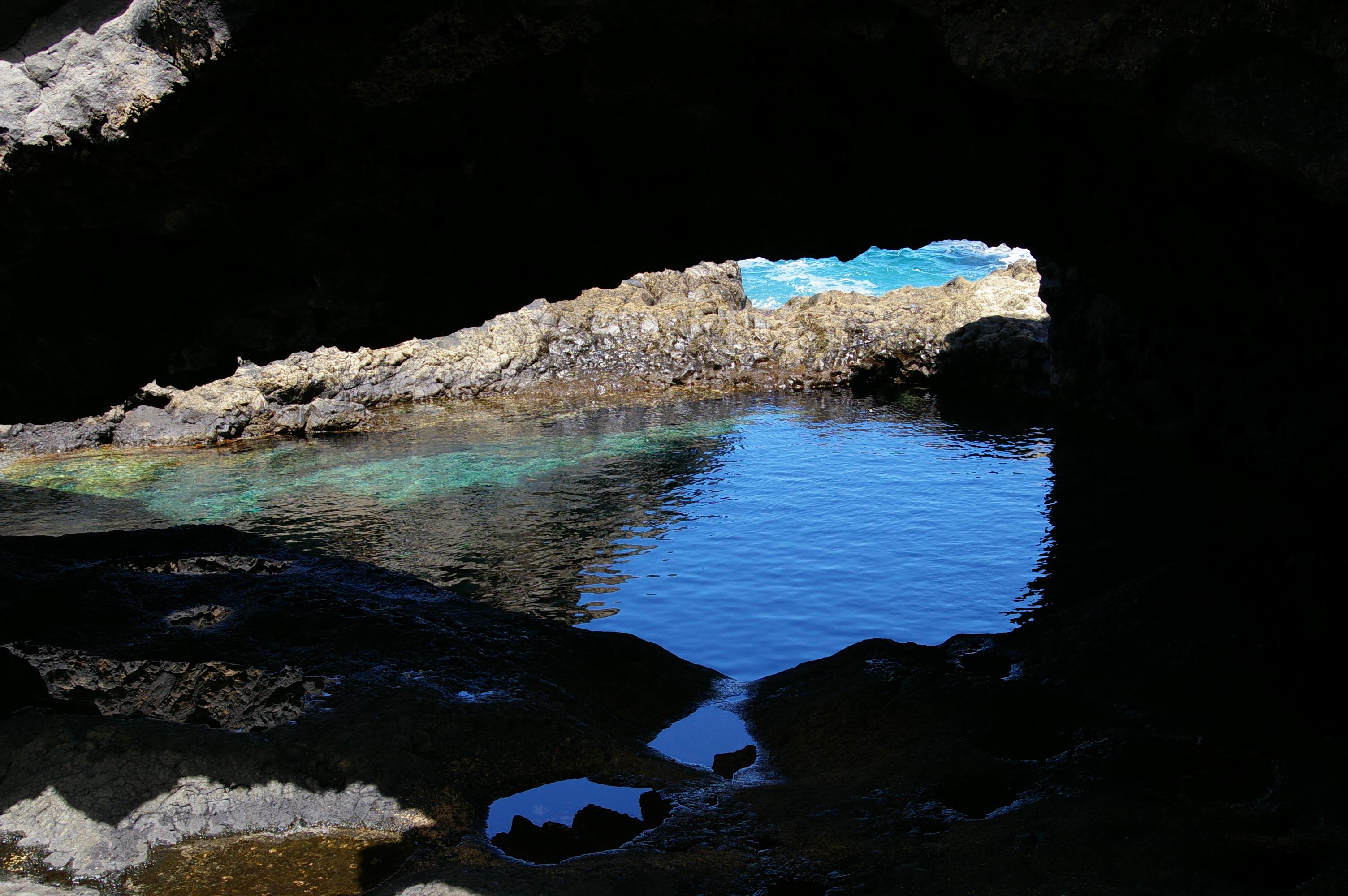 Foto playa Charco Azul / Los Llanillos. El Lago Azul