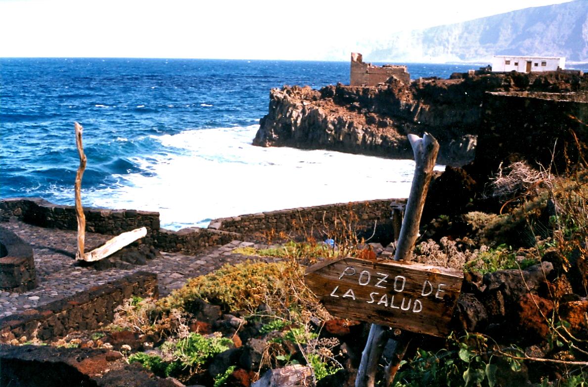 Foto playa Charco Azul / Sabinosa. El Pozo de la Salud