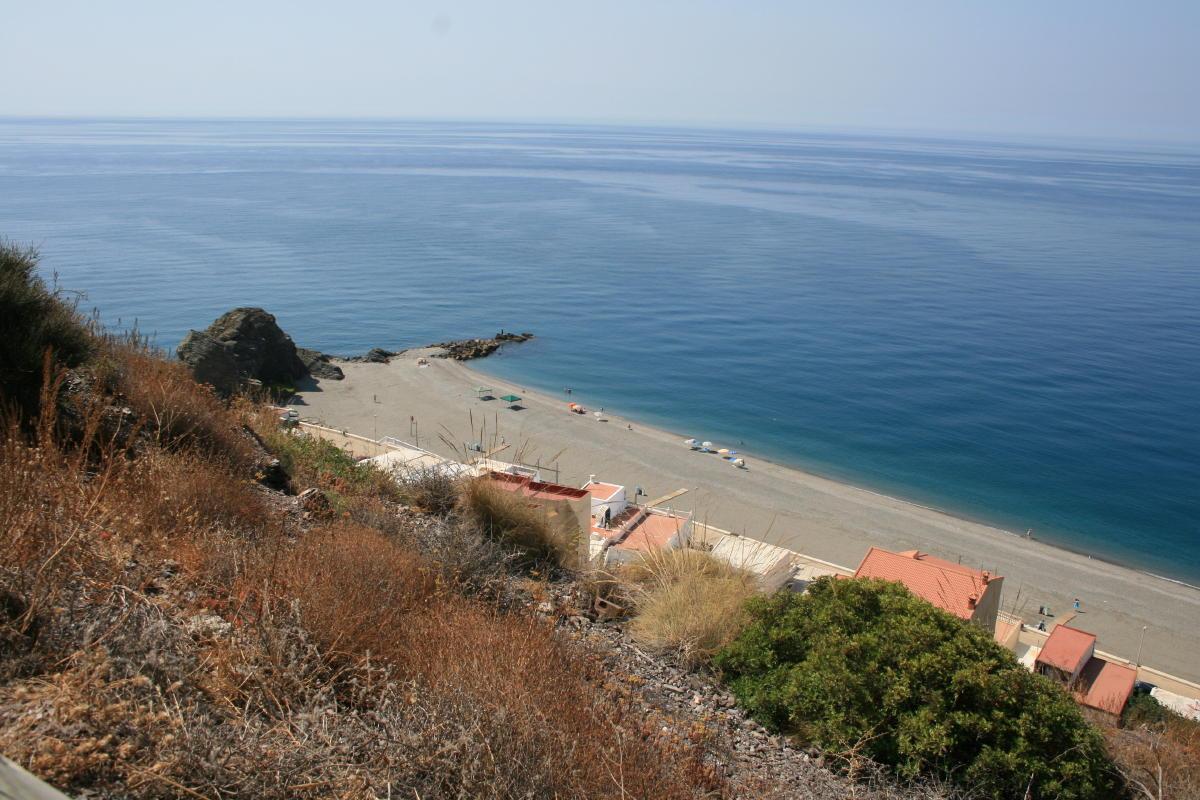Foto playa El Gaiterillo. vistas melicena