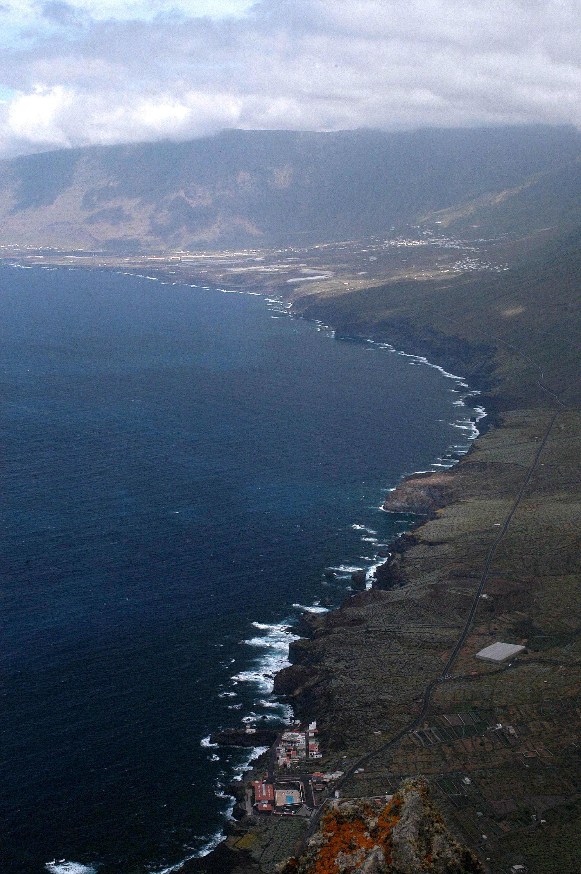 Foto playa El Verodal. Mirador a El Hierro