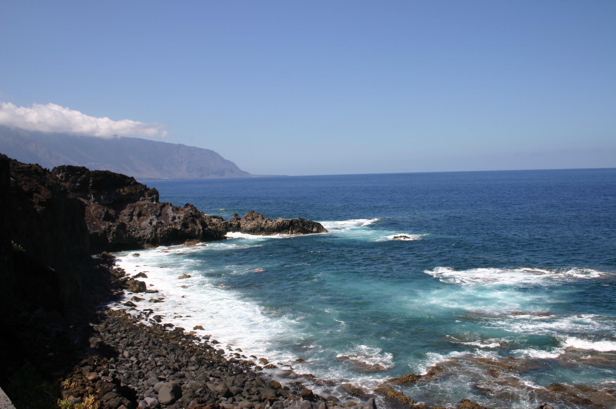 Foto playa Las Playas. EL HIERRO