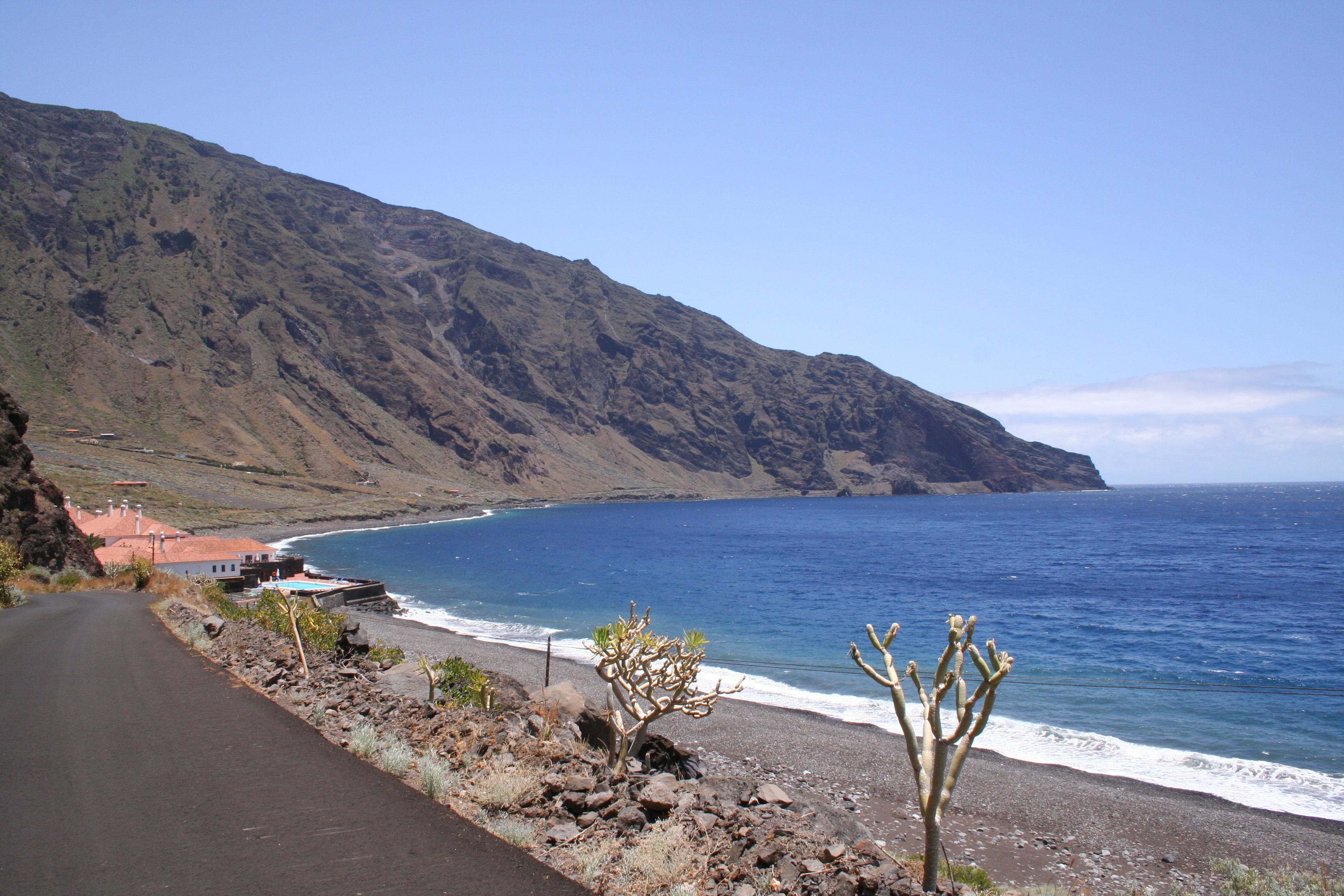 Foto playa Las Playas. Vista Parador