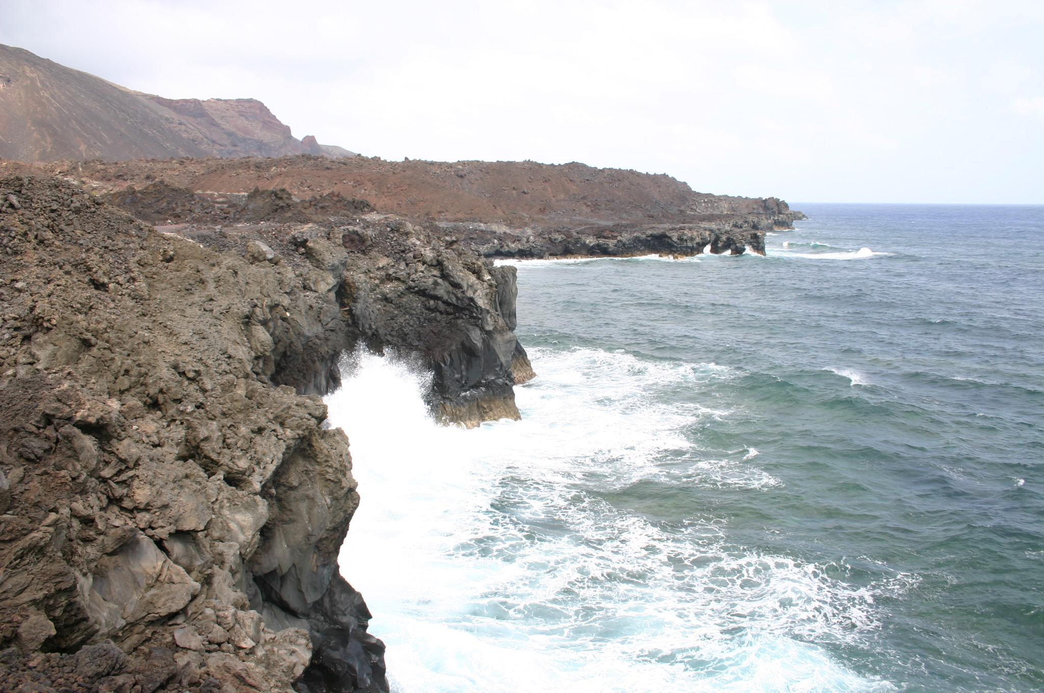 Foto playa Puerto de la Estaca. HIERRO ISLAND.....