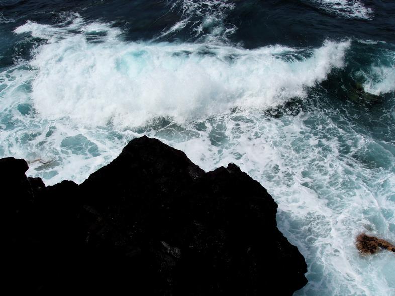 Foto playa El Tamaduste. Angry Sea