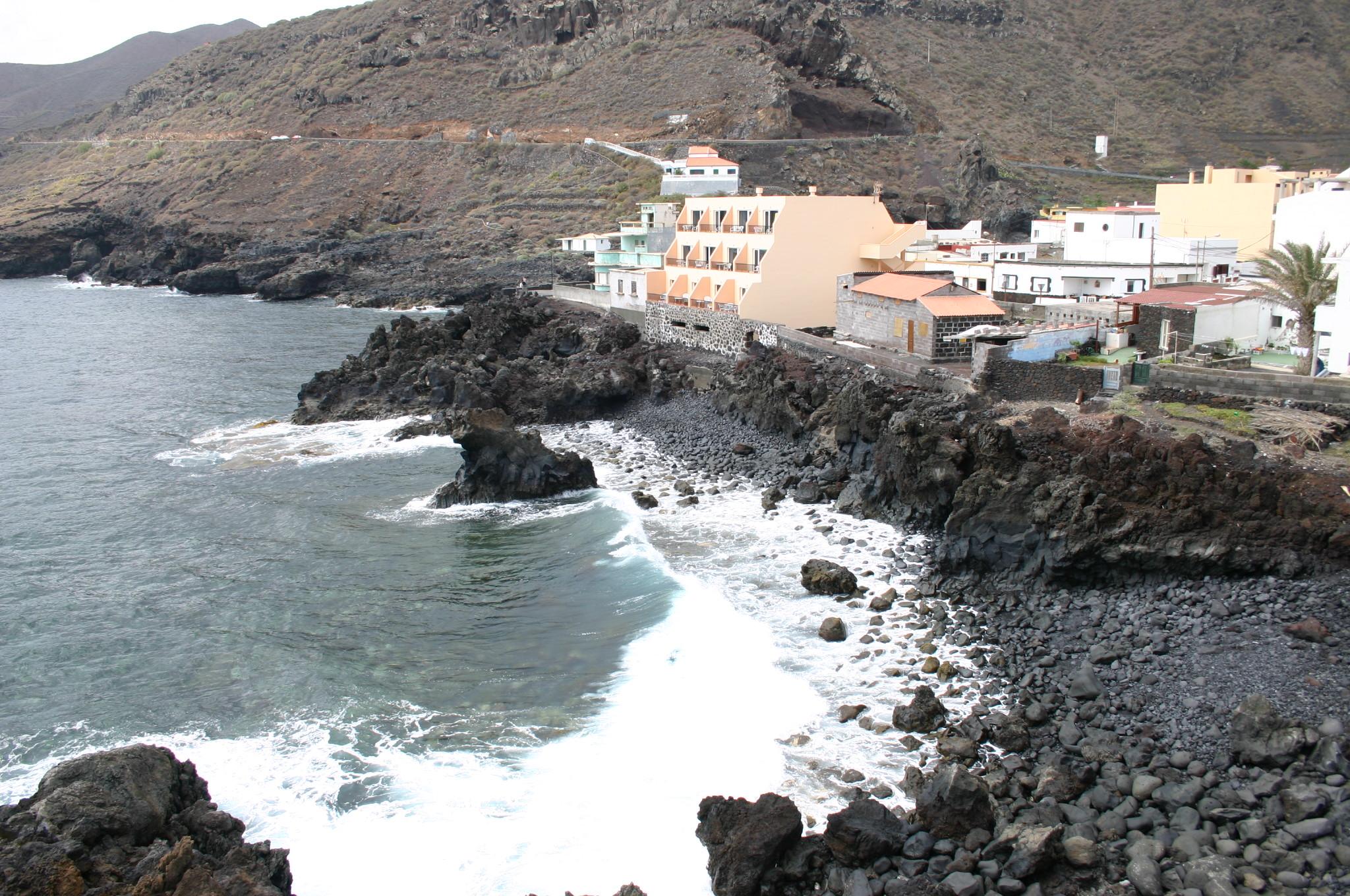 Foto playa El Tamaduste. EL HIERRO