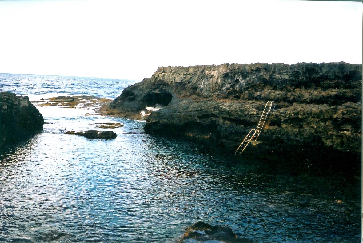 Foto playa Charco Manso. Piscina en el mar, El Hierro