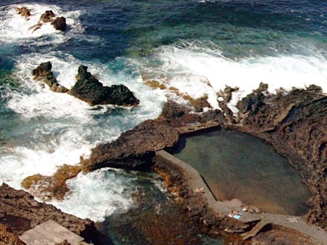 Foto playa Charco Manso. Natural Swimmingpool